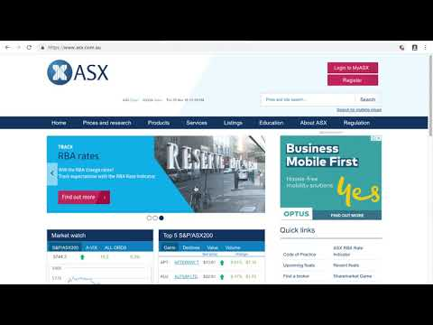 How to purchase Australian shares & Australian Government Bonds under 6 minutes