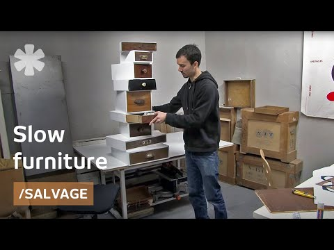 Tinkerers' workshop: slow furniture recrafted from trash