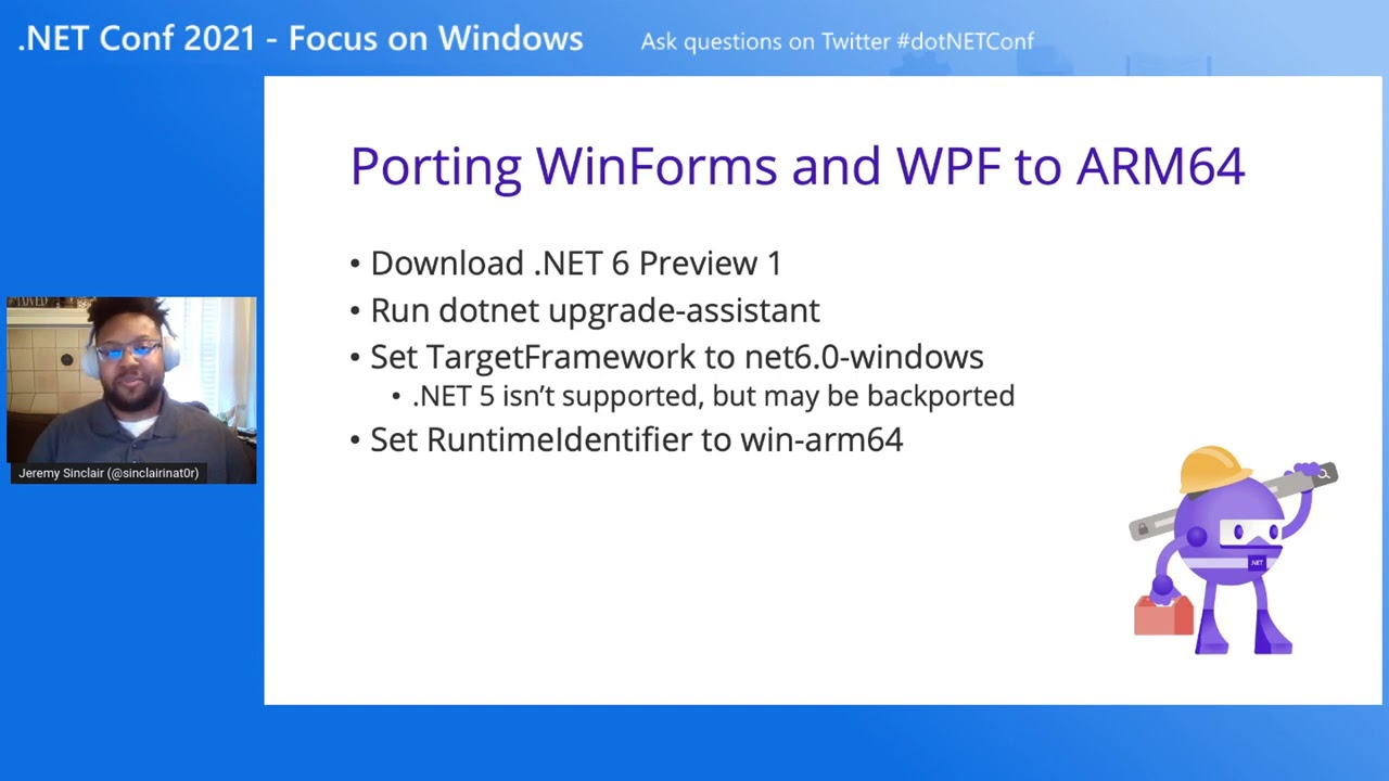 Bringing your Windows Forms and WPF apps to ARM Devices