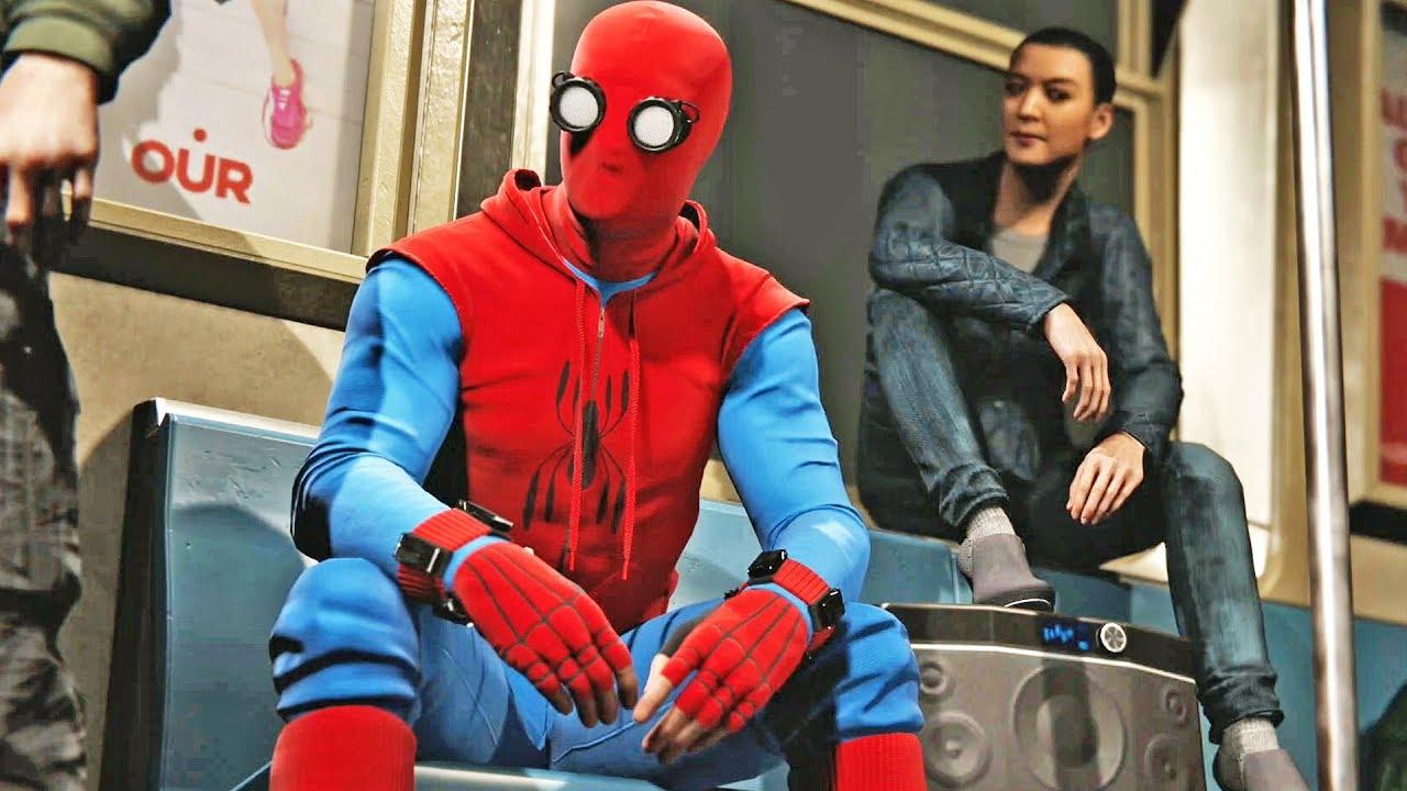 Marvel's Spider-Man #31: Traje Amador Homem-Aranha De Volta ao Lar - Loucura da Internet