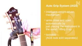 GS412B Hercules Guitar Single AGS Stand