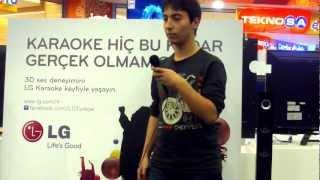 LG ile Karaoke Keyfi (24 Kasım NAUTİLUS AVM Teknosa Yarışmacıları)