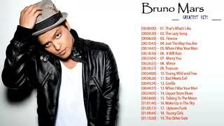 Bruno Mars Greatest Hit - Bruno Mars Full Album - Bruno Mars Playlist