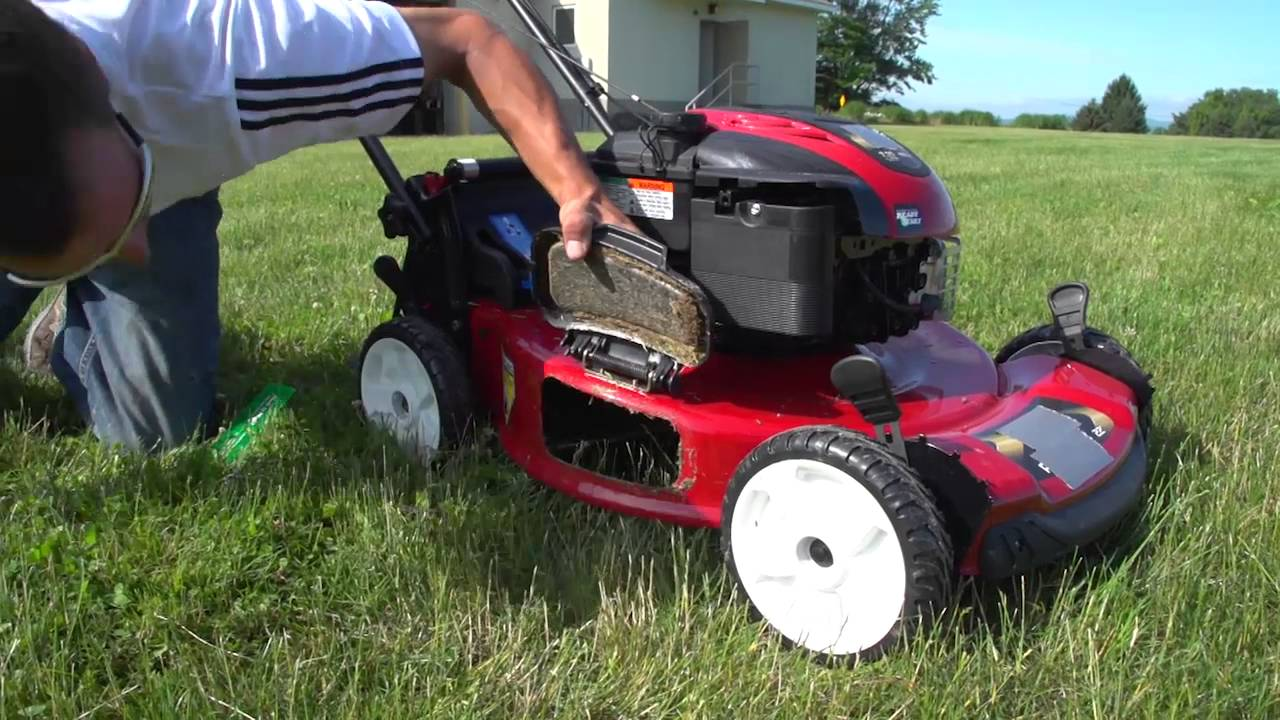 Adjust Your Mower Blade Height Youtube