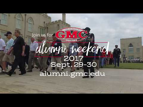 Alumni Weekend Promo 2017 - Georgia Military College