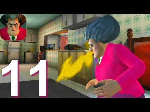 Scary Teacher 3D - Gameplay Walkthrough Part 11 - Miss T Breakfast Prank (Android, iOS) from YouTube · Duration:  11 minutes 53 seconds