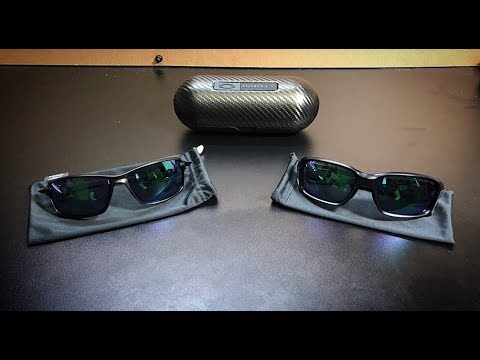00c6f4f14d Oakley Carbon Shift and Straight Link side by side - YouTube