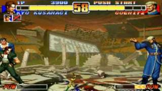 The King of Fighters '96 - Goenitz Battle