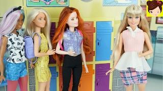 """Frozen Adolescentes Primer Dia de Clases """"El Grano"""" - Hijas de Elsa y Anna -  ROYAL HIGH Ep1"""