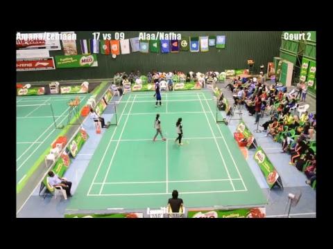 MILO 15th Inter School Badminton Tournament 2018 LIVESTREAM - Court 2