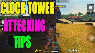 Clock tower attecking tips || Rank match tips and tricks|| Free fire tips || run gaming tamil