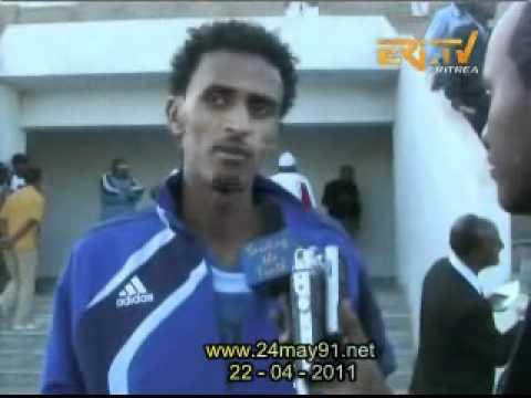 Eritrea beating Kenya 4-1 in Asmara (football U23)