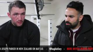 Exclusive: Hughie Fury on his world title challenge against Joseph Parker