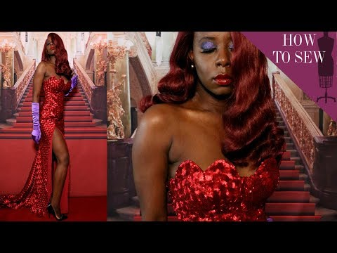 i-redesigned-jessica-rabbit-red-dress-for-the-met-gala|-camp-cosplay