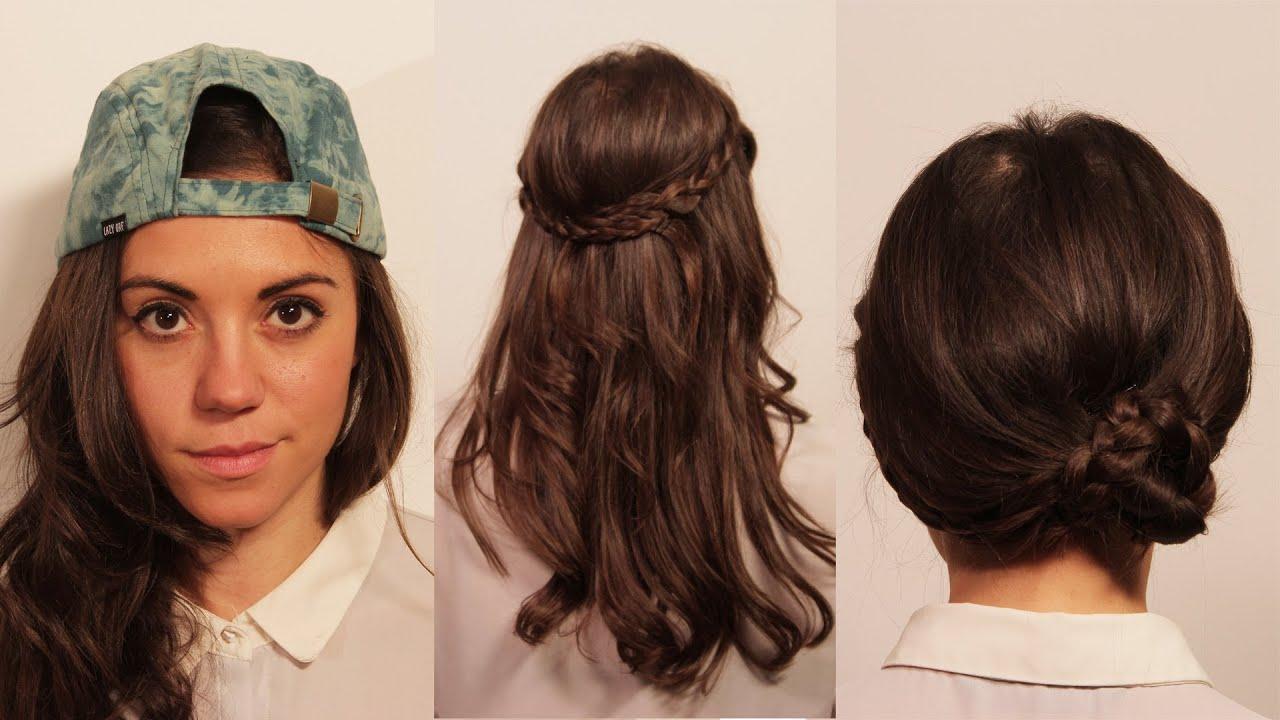 3 hairstyles ' running