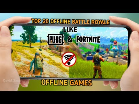 Top 20 Best Offline Battle Royale Games For Android 2019 | Best Offline Games Like PUBG And Fortnite