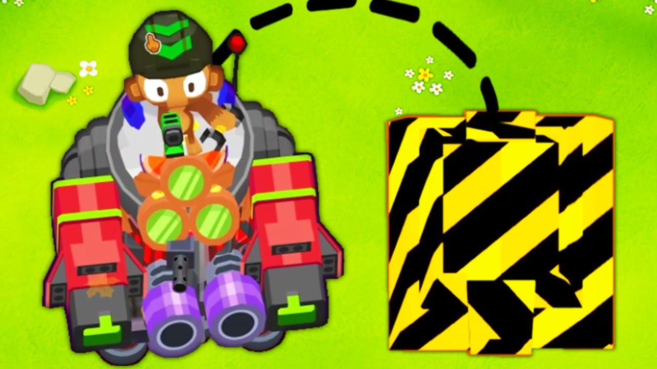 Download DRIVABLE Robot in BTD 6?! (Vengeful Engineer Mecha in Bloons TD 6)