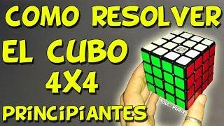 RESOLVER CUBO DE RUBIK 4x4 ( Principiantes ) TUTORIAL - MUY FÁCIL
