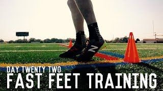 Fast Feet Training | The Pre-Preseason Training Program | Day Twenty Two
