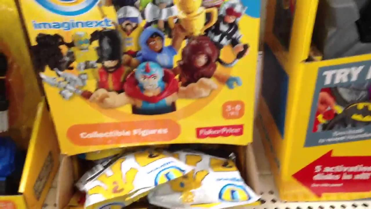 Imaginext Toy Line At Walmart Youtube