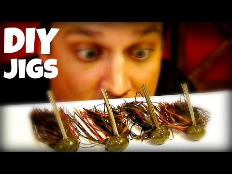 How to Make a Bass Fishing Jig
