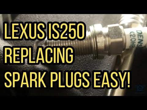 How to Replace Lexus IS250 Spark Plugs POV