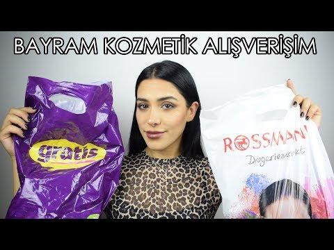 Bayram Kozmetik Alışverişim 2018