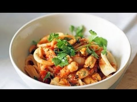 Seafood Spaghetti Recipe, The Yes Chef (Ep1)