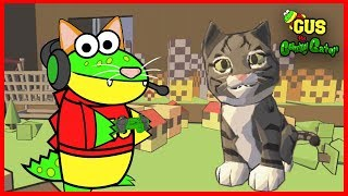 Let's Play CATlateral Damage Cat Simulator Steam Game with Gus