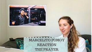 Voice teacher reacts to Marcelito Pomoy - the prayer