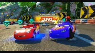 Şimşek McQueen ve Harika Arabalar 3 Oyununda Yarışıyorlar