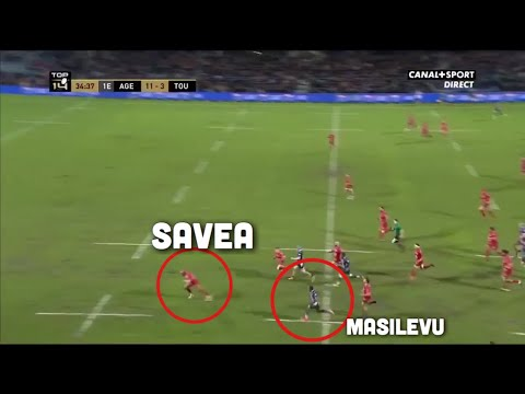 This is why Julian Savea was released by Toulon!
