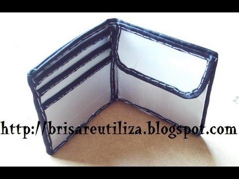 27 manualidades como hacer cartera con tetrabrick - Como hacer manualidades ...