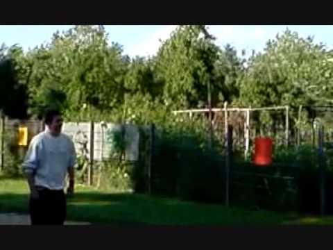 Freerunning-Parkur im Bieberer KinderGarten :D