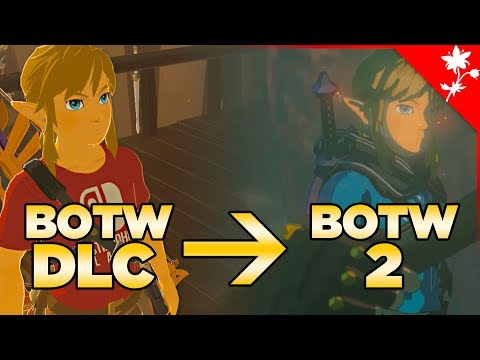 Breath of the Wild DLC was Turned Into BOTW Sequel