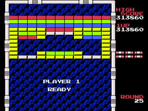 NES Arkanoid TAS in 16:30.47 by Genisto