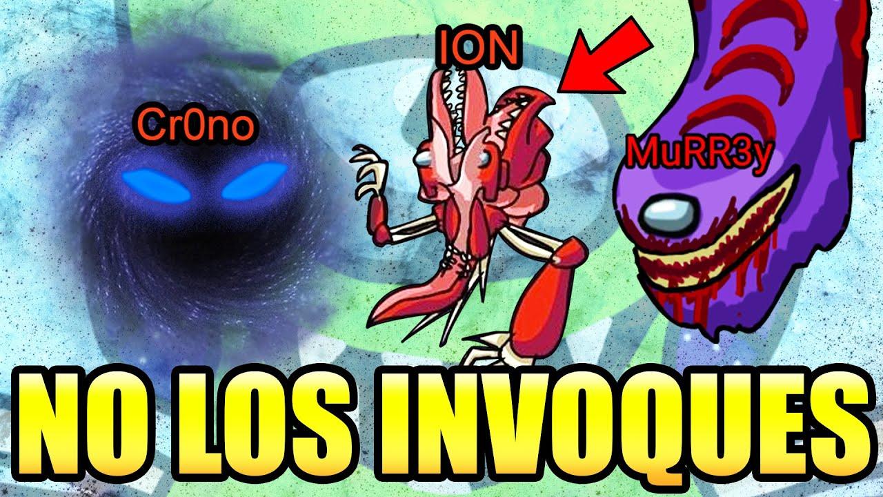No Invoques al impostor Murr3y Ion y D4rk en Among Us ... 😨