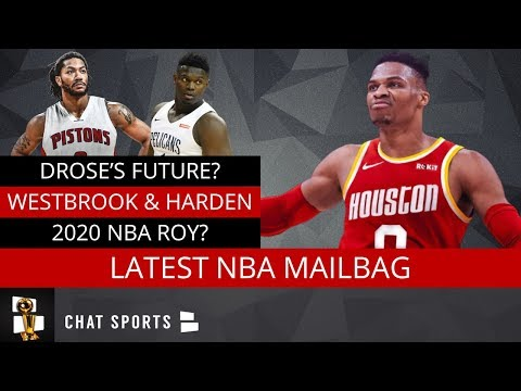 NBA Mailbag: Derrick Rose In Detroit, 2020 Rookie Of The Year, James Harden & Russell Westbrook Duo