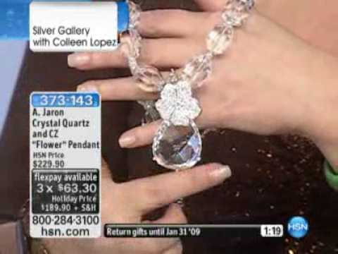 A Jaron Studio by Amanda Jaron on HSN- Home Shopping Network with Colleen Lopez