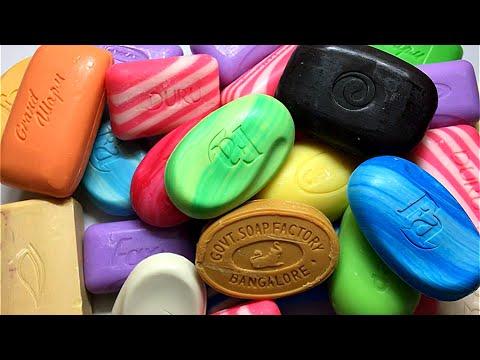 Leisurely unpacking of soap. Soap opening HAUL. No talking/ Неспешная распаковка мыла#4