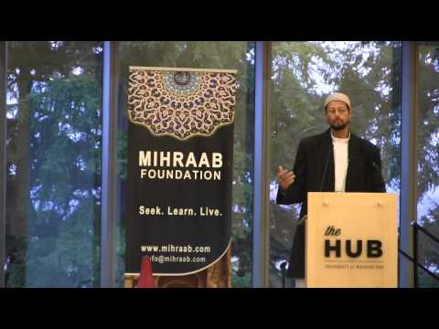 Mihraab Conference 2013 - Recharging the Soul with the Sunnah of the Beloved - Imam Zaid Shakir