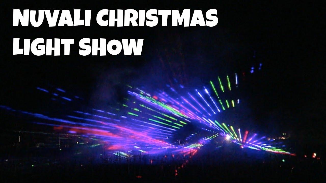 Light Show For Christmas