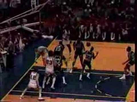 Georgetown Hoyas basketball 2/25/85