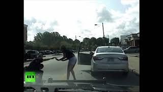 Dashcam: US police officer beats black driver (DISTURBING)