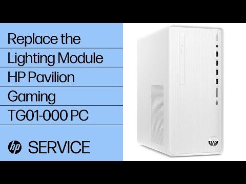 Replace the Lighting Module   HP Pavilion Gaming TG01-000 PC   HP
