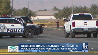 'Absolute senseless act': Bicyclist, suspect die following reckless driving incident, police looking