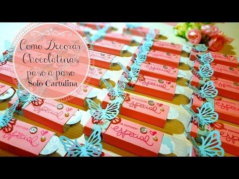 Como decorar chocolate chocolatinas para mesa dulce mesa - Como se hacen crepes dulces ...