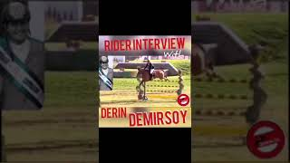 RIDER INTERVIEW WITH DERİN DEMİRSOY!