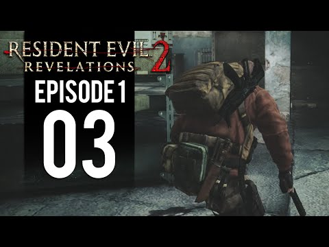 Resident Evil Revelations 2 - Gameplay Walkthrough Part 3 - Barry Burton (Episode 1 Penal Colony) thumbnail