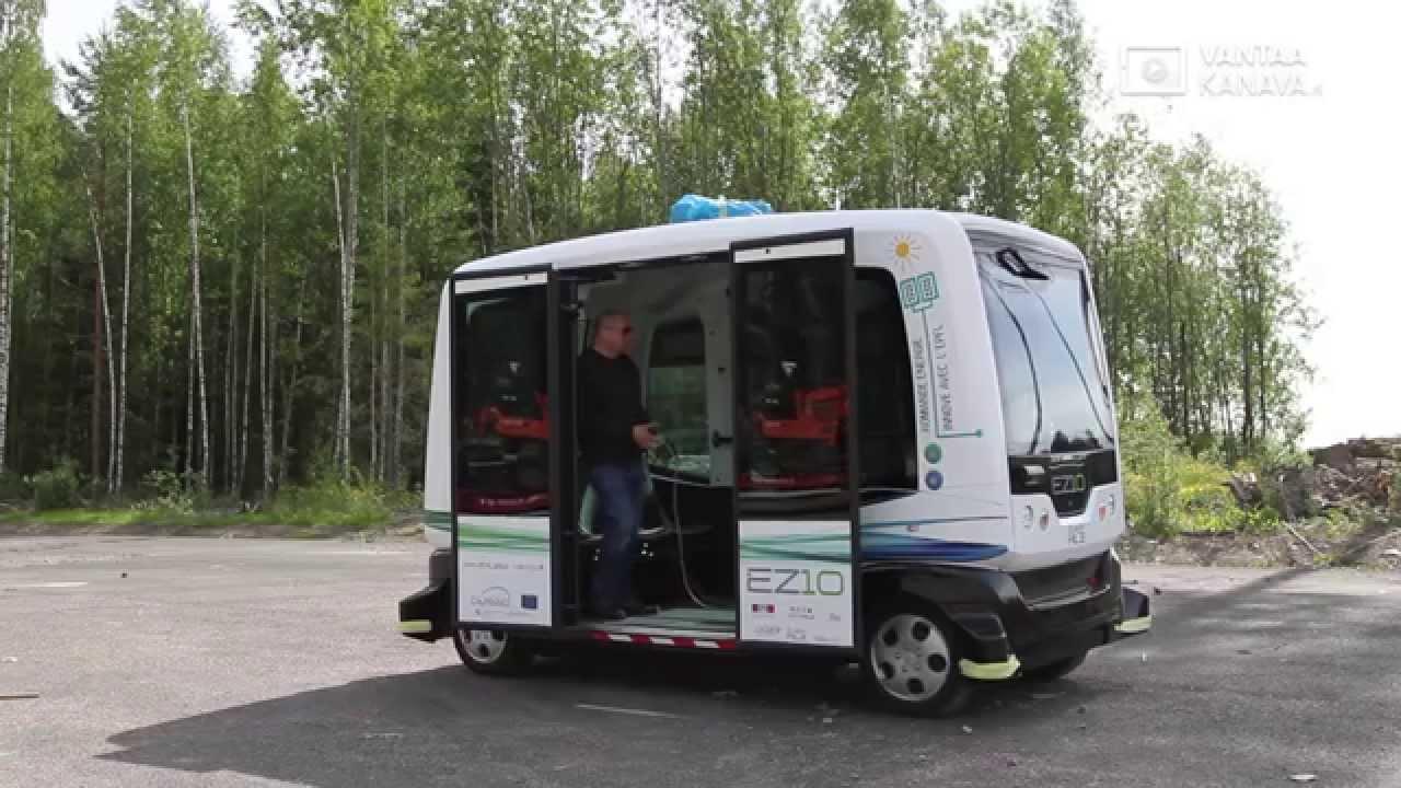 Kuskittomat bussit Kivistöön - YouTube